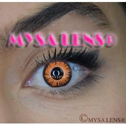 Lentilles De Contact De Couleur Fantaisie Crazy Lens  Vampire Twilight Bella De Marque MYSA LENS® 1 an