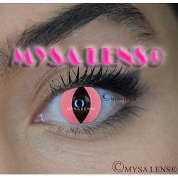 Lentilles Fantaisie CHAT ROSE / PINK CAT   De Marque MYSA LENS® 1 an