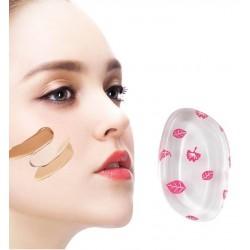 Eponge en silicone pour maquillage